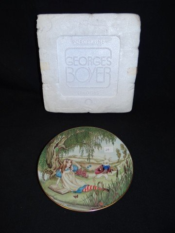 24: Georges Buyer Limoges Alice Plate