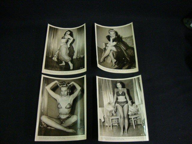 Original Varietease Publicity Photographs C. 1954