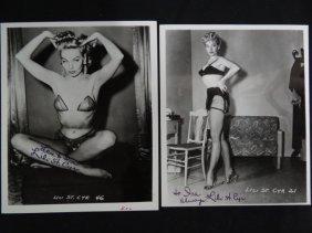 Lili St Cyr Signed Photographs