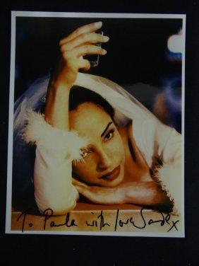 Signed Jade Photograph