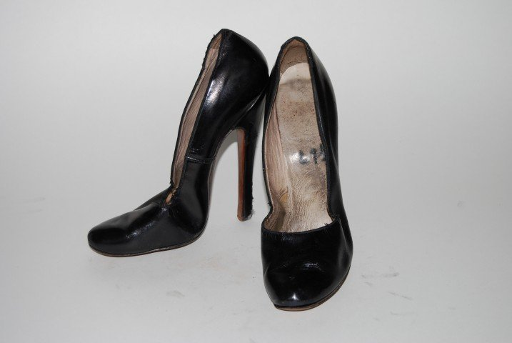 Vintage Bettie Page High Heel Shoes