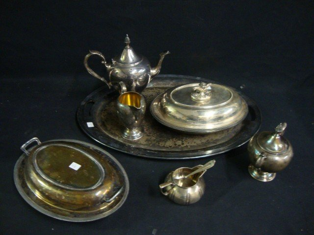 Lot of Silverplate Inc Gorham