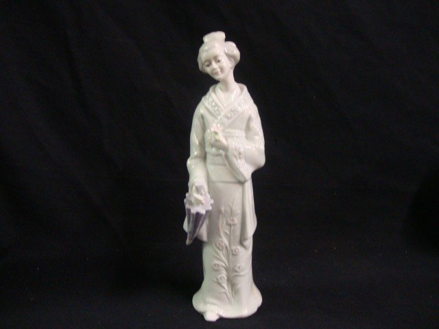 KPM Porcelain Figure of a Geisha.