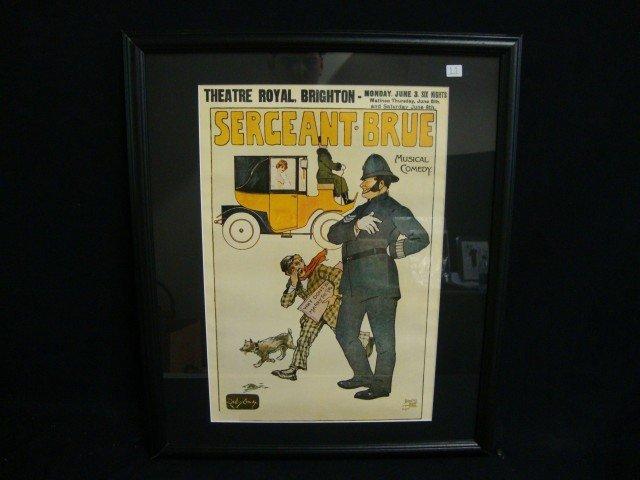 English Theatre Poster