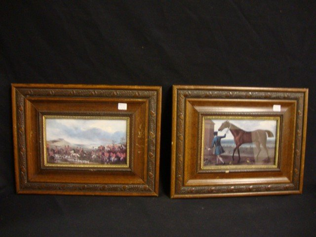 Pair of English Horse Prints