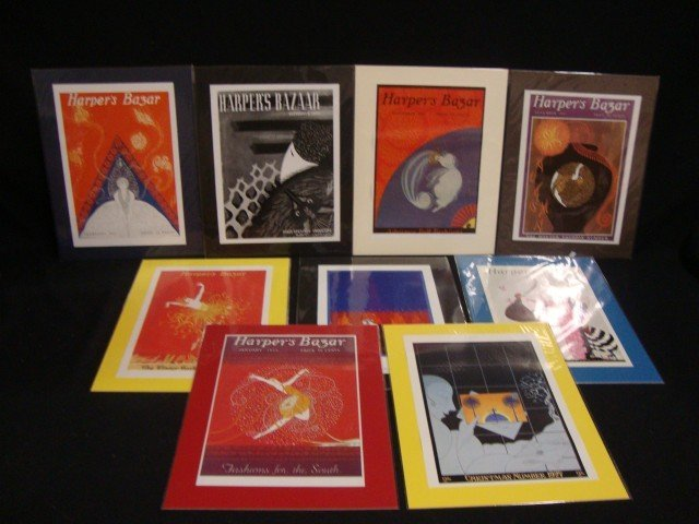 Erte Vintage Magazine Covers