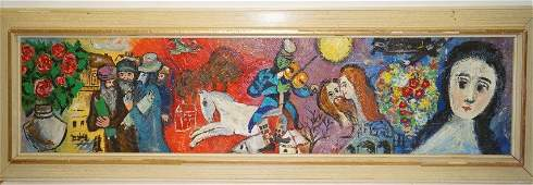 B. Frivieger; 20th C. French oil painting signed