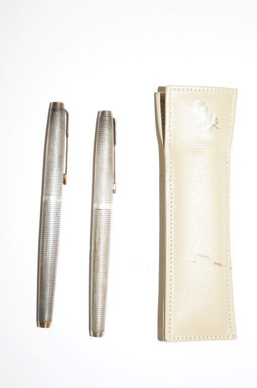 Sterling Silver Parker Pen Set
