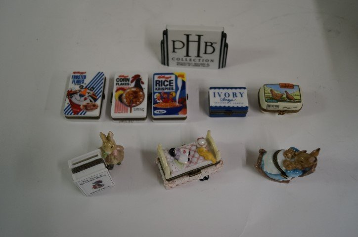 Lot of porcelain pill boxes(45 pcs)