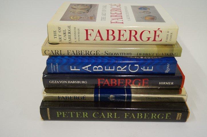 Six(6) Books: Carl Faberge