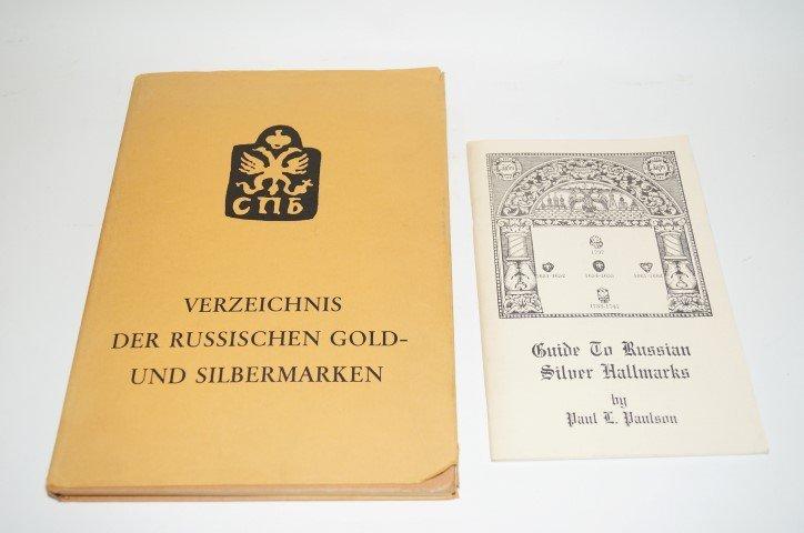 Two(2) Books: Russian Hallmarks