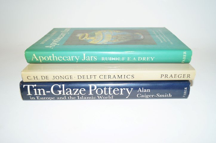 Three(3) Books: Pottery and Ceramics