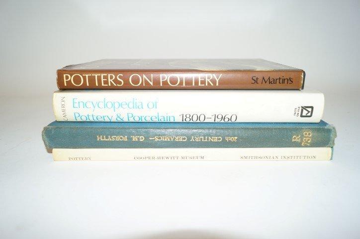 Four(4) Books: Ceramics, Pottery & Porcelain