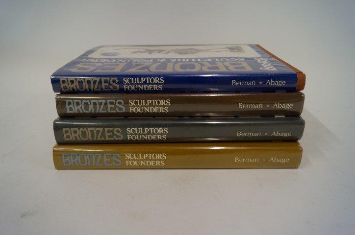Four(4) Volume Set: Bronzes Sculptors & Founders