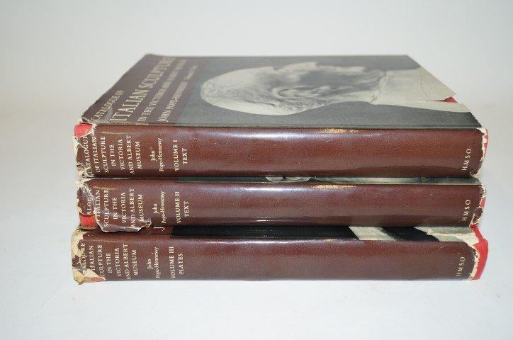 Three(3) Volume Set: Catalogue of Italian Sculpture