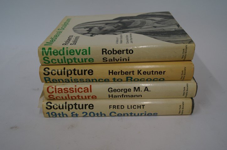 Four(4) Volumes: Sculpture, A History of Western