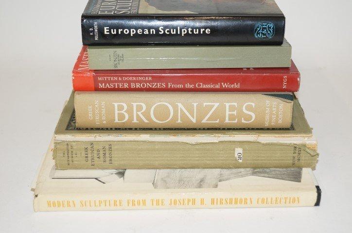 Six(6) Books: Early - Modern Sculpture