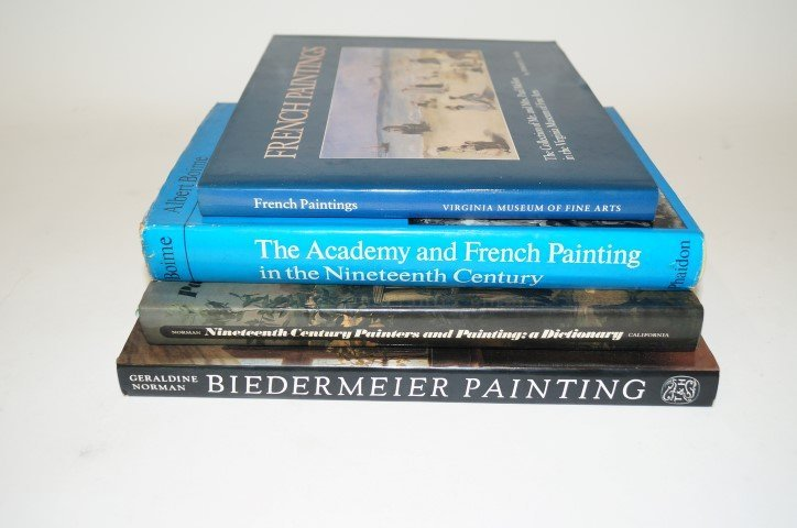 Four(4) Books: 19th Century Painting