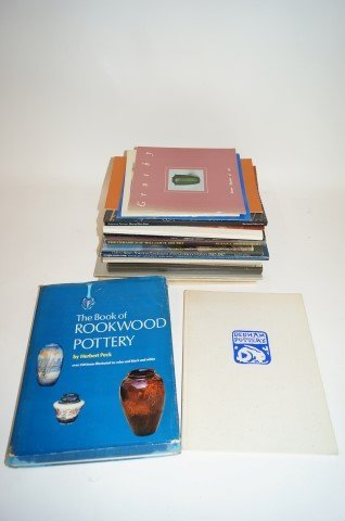 Lot of Books and Catalogs: American Art Pottery