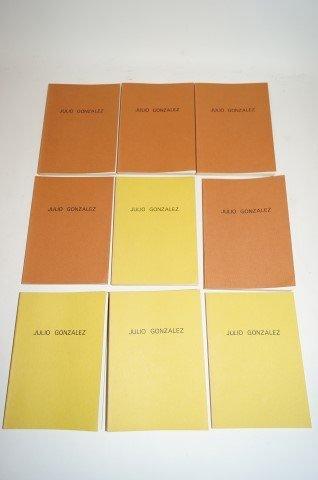 Julio Gonzales; 1975 Catalogue Raisonne Set
