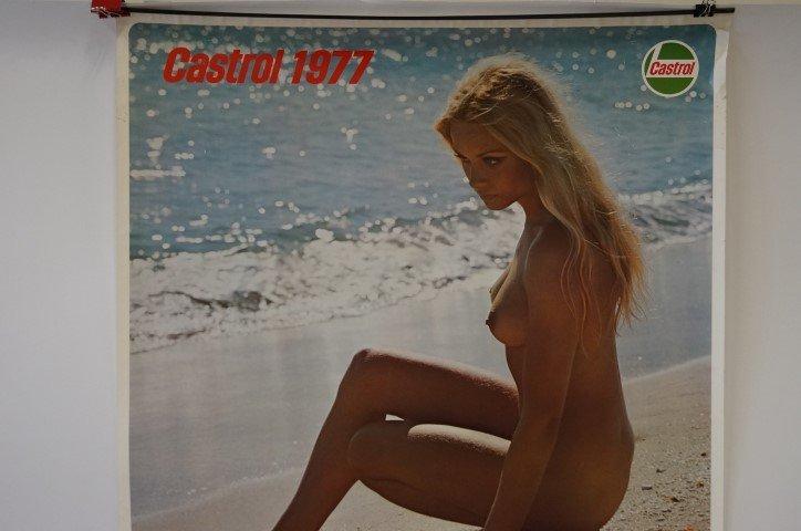 Vintage Poster: Castrol Oil Calendar 1977 - 3