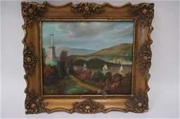 Georgina Nemethy American oil painting signed
