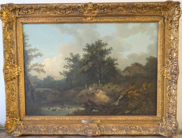 Thomas Gainsborough(attributed to);18th C. English oil