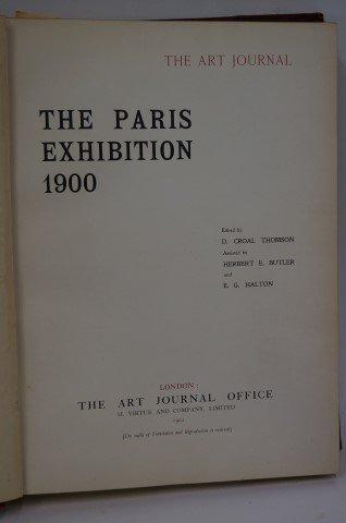 Art Journal: Paris Exposition 1900