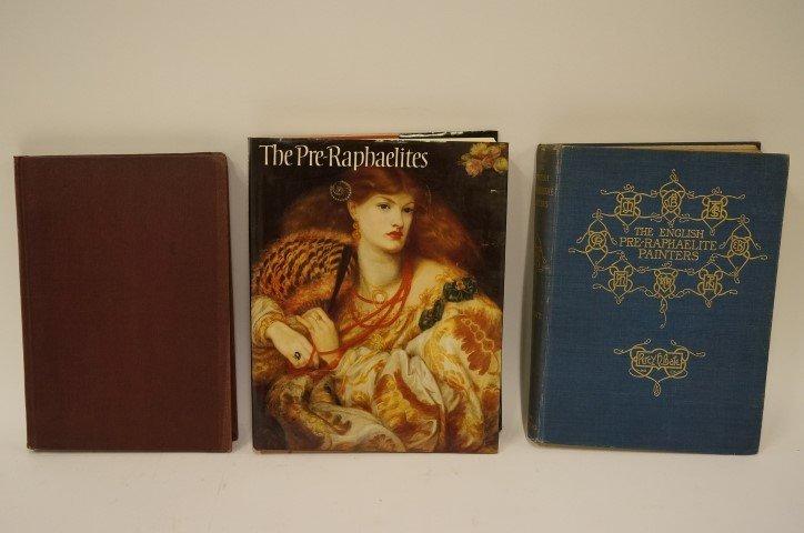 Three(3) Books: Pre-Raphaelites