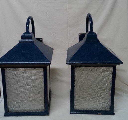 Pair of 19th C  Lanterns