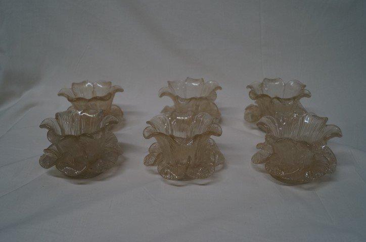 Six Murano Glass  Bowls