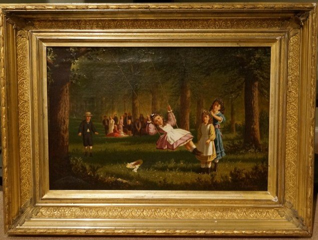 F. R. Wilton; American Oil Painting Signed
