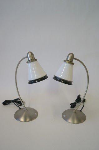 Pr.  Desk Lamps.