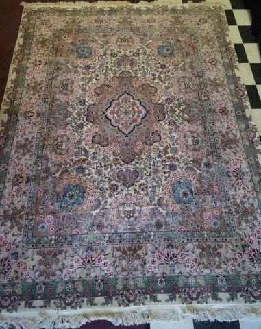 Semi Antique Kerman Oriental Carpet