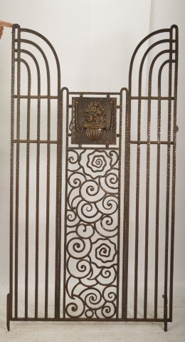 Rare Art Deco Gate Edgar  Brandt - 3