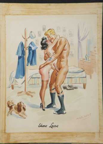 Original Erotic Cartoon Illustrations 8-6484