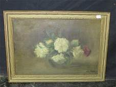John La Farge Oil Signed