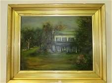 Zucker. Jacques.  Oil on Canvas., Signed