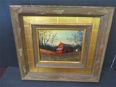 Thomas Kerry. American Oil. Signed