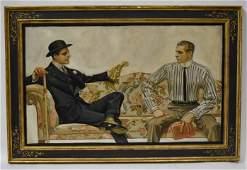 Joseph CLeyendecker Oil Painting