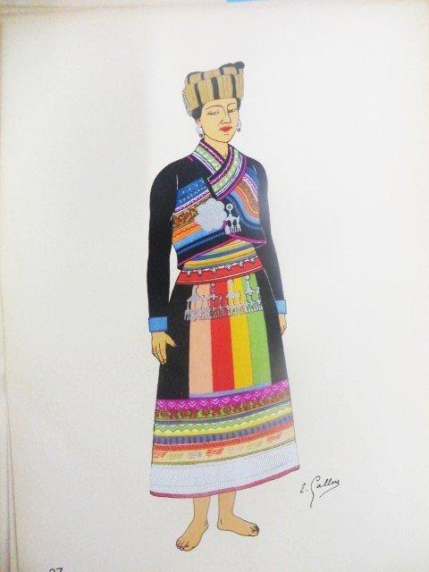 Emile Gallois.  Costumes de L'Union Francaise - 6