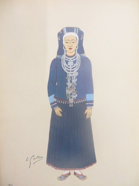 Emile Gallois.  Costumes de L'Union Francaise - 7