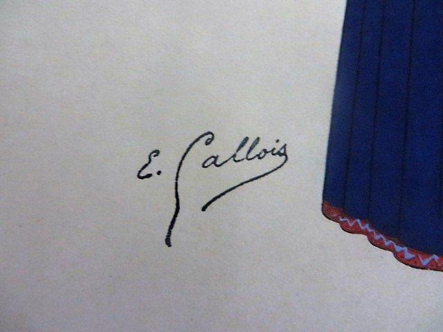 Emile Gallois.  Costumes de L'Union Francaise - 8