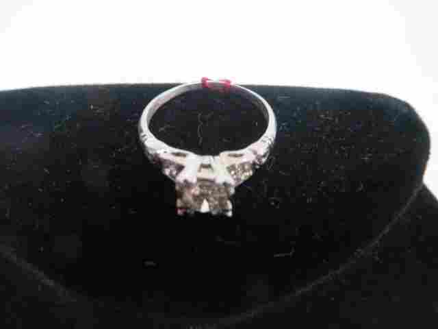 10% Irid. Platinum Diamond Ring