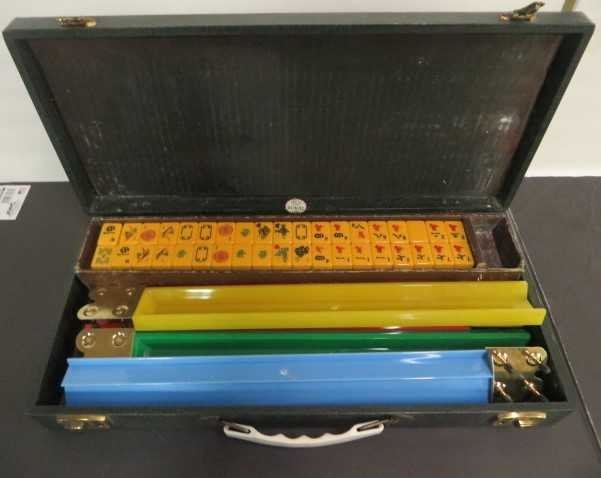 Mah Jong Game.  Bakelite Game Parts