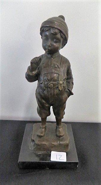 Bronze Figure Signed Schmidt-Felling