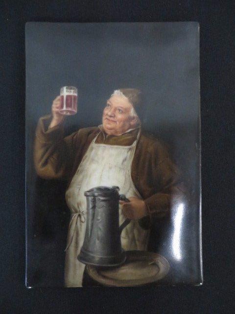 German Painting on Porcelain