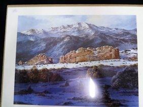 Ltd. Ed. Tom Dooley Western Lithographs (2)