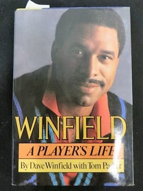 Signed Dave Winfield Book