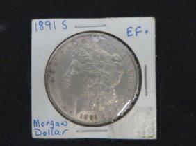 1891s Morgan Silver Dollar